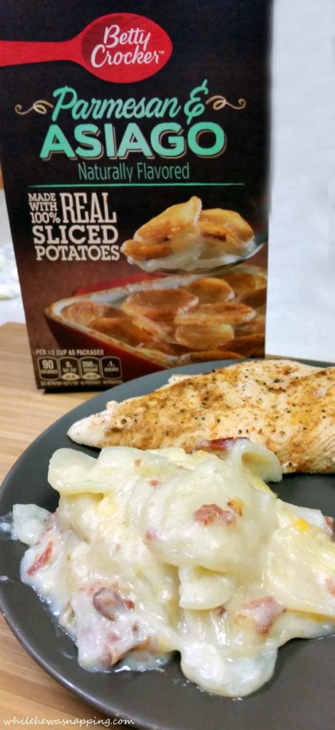 Betty Crocker Potatoes Scalloped Potatoes and Ham Casserole
