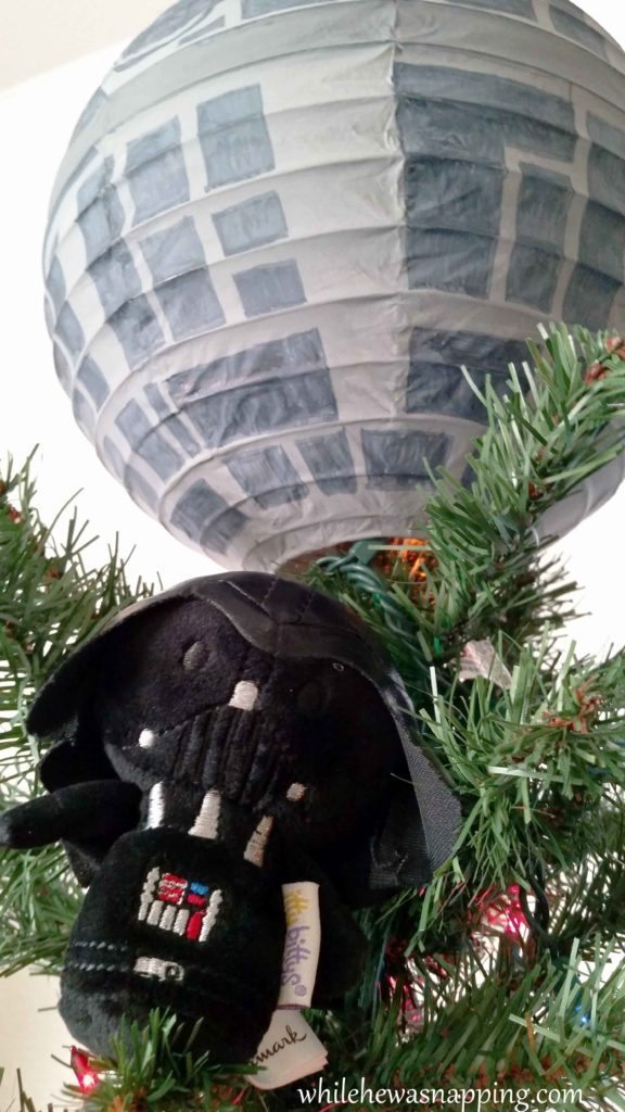 Hallmark IttyBittys Star Wars Christmas Tree Hallmark Star Wars Death Star