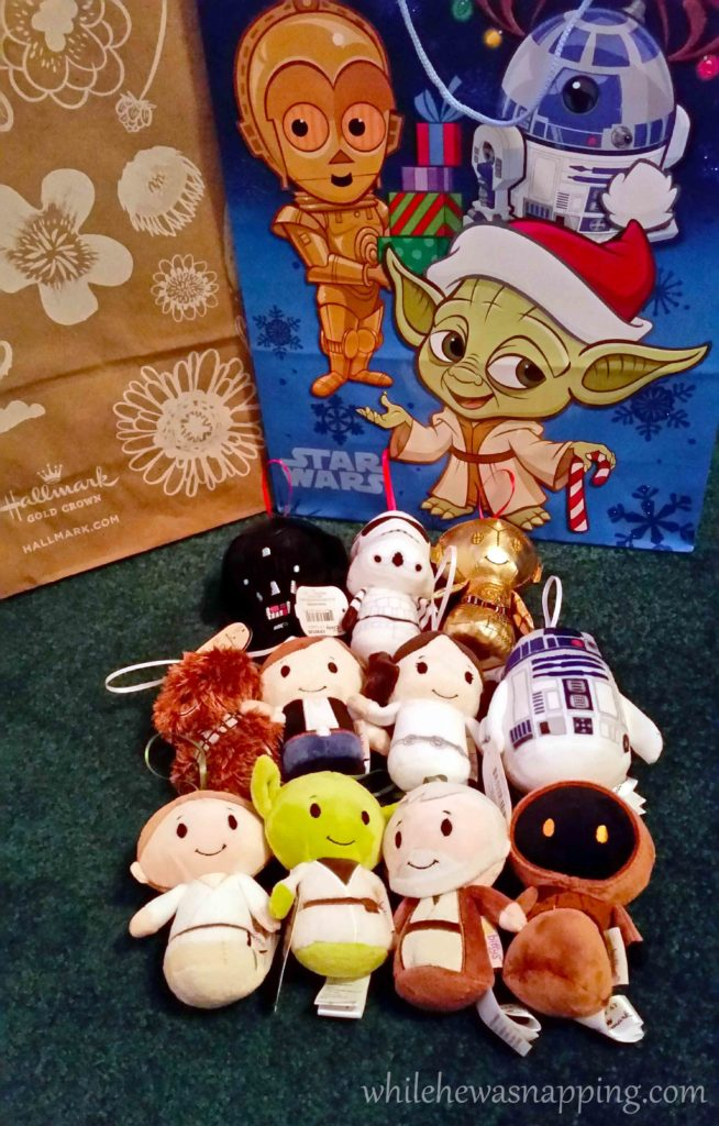 Hallmark IttyBittys Star Wars Christmas Tree Star Wars IttyBittys