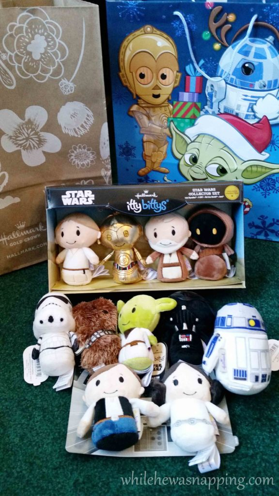 Hallmark IttyBittys Star Wars Christmas Tree Star Wars IttyBittys Plushes