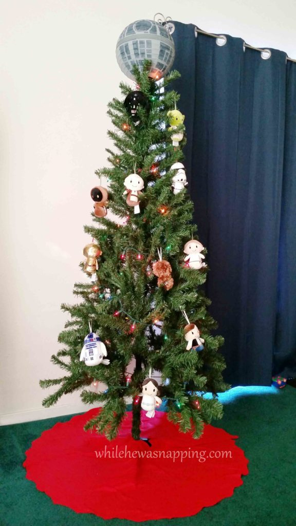 Hallmark IttyBittys Star Wars Christmas Tree