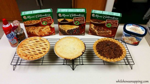Marie Callender's Pie Perfect Holiday Dessert Basic Pie Bar