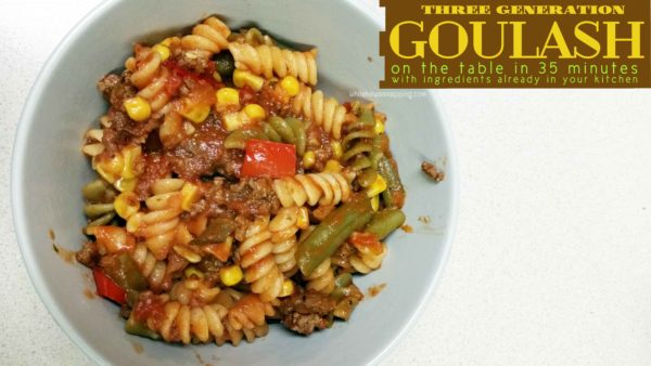 Ragu Pasta Sauce Simmered in Tradition 3 Generation Goulash Hero