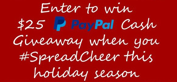 Spread Cheer This Holiday Season 25 Paypal Giveaway