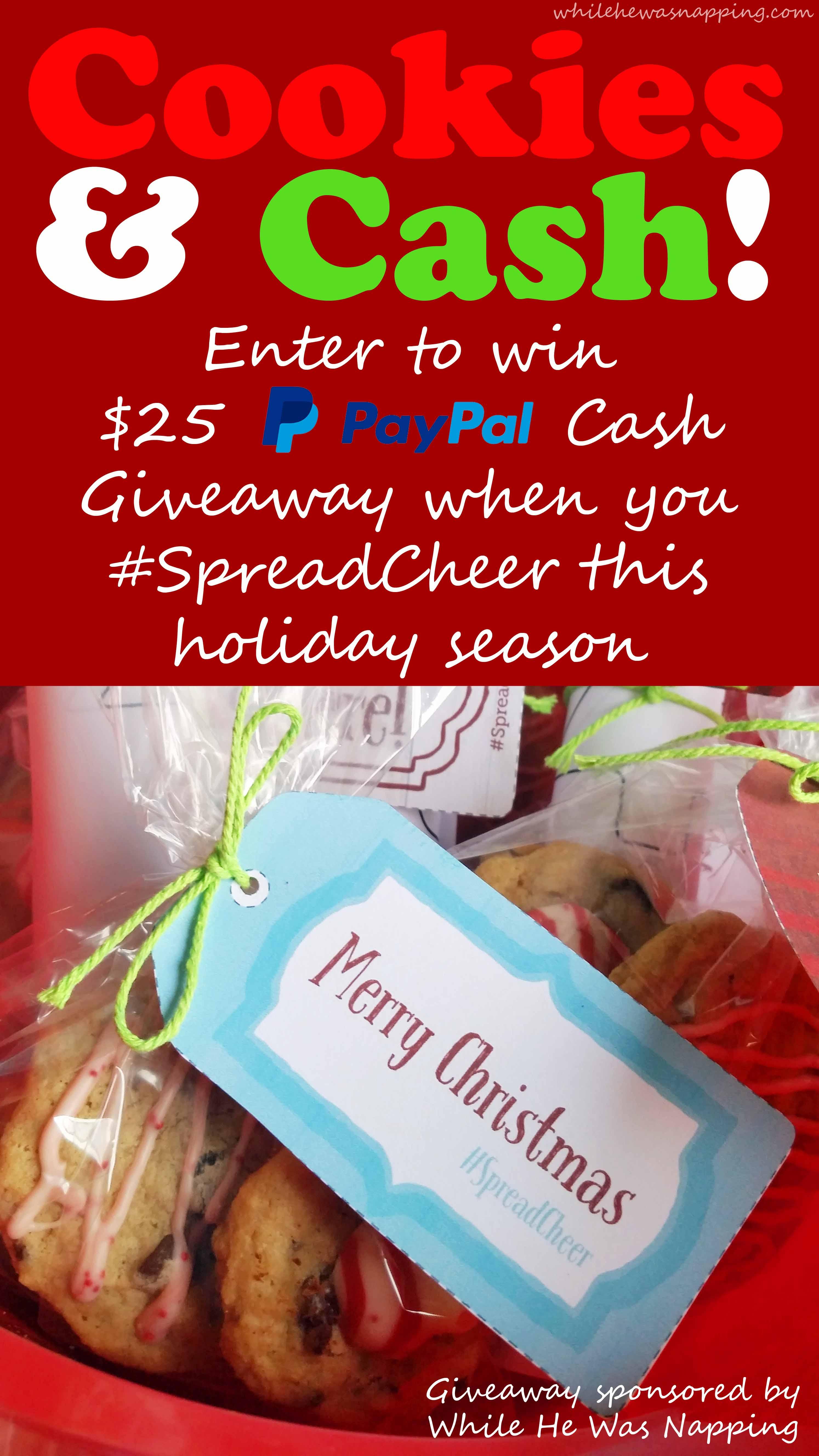 Spread Cheer Betty Crocker Cookies Giveaway