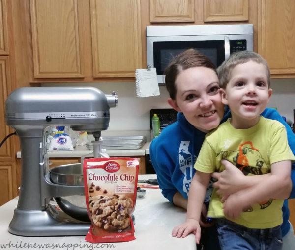 Spread Cheer Betty Crocker Cookies Mommy Son Date