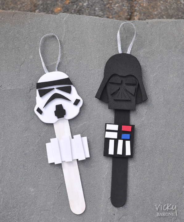 Star Wars Craft Stick Ornament found on Vicky Barone