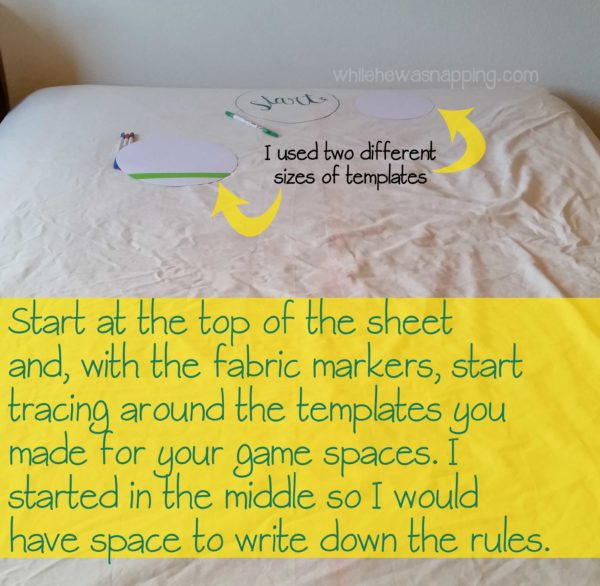 Between the Sheets DIY Bedroom Game Getting Started