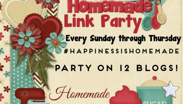 Happiness is Homemade Link Party – 04/24