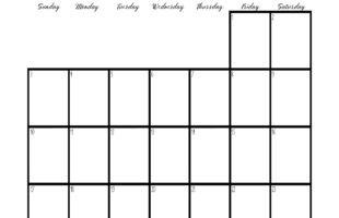 LDS 2016 Primary Calendar Set