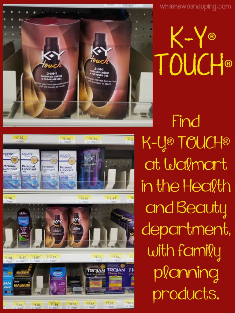 K-Y® TOUCH® Between the Sheets Game Date Night Idea In-Store