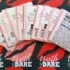 Couples Truth or Dare Printable Game