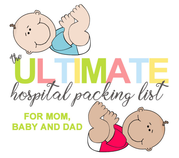 The Ultimate Hospital Packing List Cover