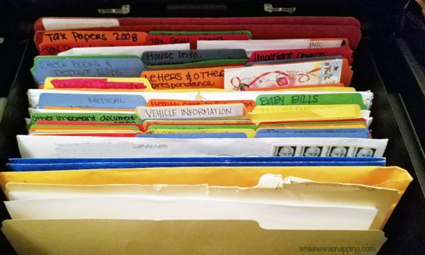 Banish the Paper Clutter FOR GOOD File Important Papers