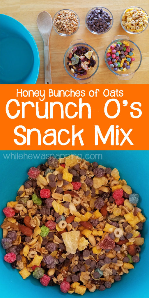 Honey Bunches of Oats Crunch-O's Snack Mix