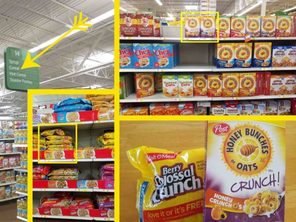 Honey Bunches of Oats Crunch-O's Snack Mix Instore