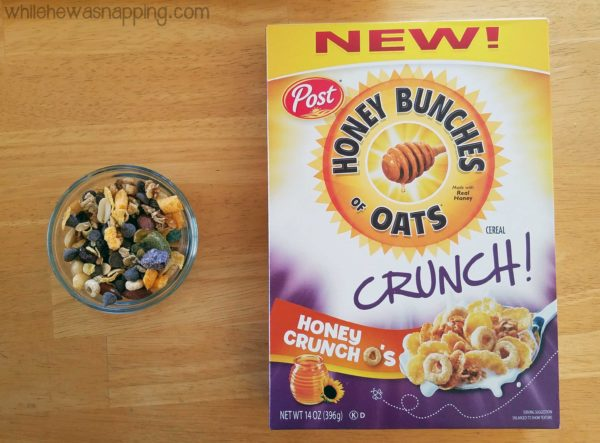 Honey Bunches of Oats Crunch-O's Snack Mix with Crunch-O's