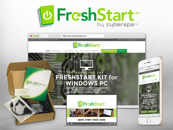 FreshStart your old PC Like New