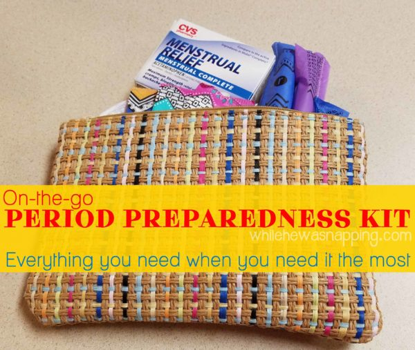 On-The-Go Period Preparedness Kit - Everything you need when you need it most!