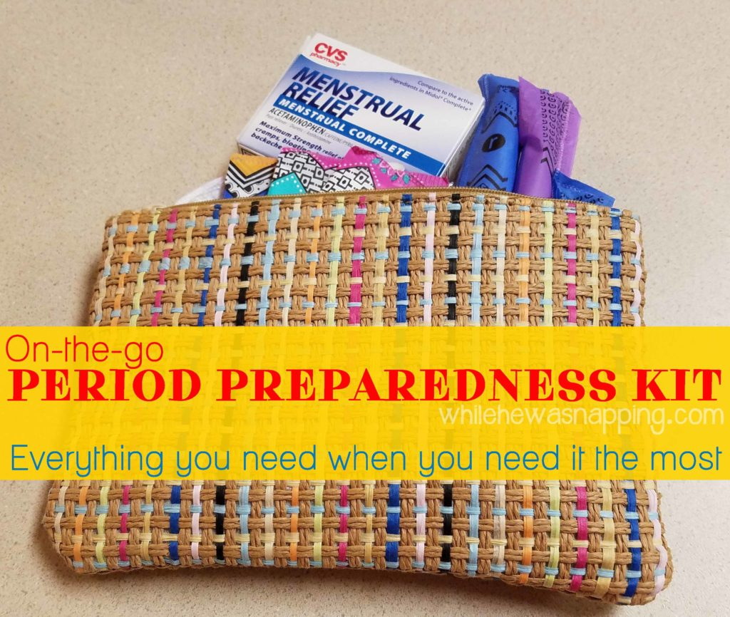 Period Preparedness Car Kit
