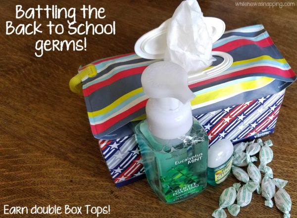 DIY Natural Disinfectant Wipes Battle Back to School Germs and Earn Double Box Tops