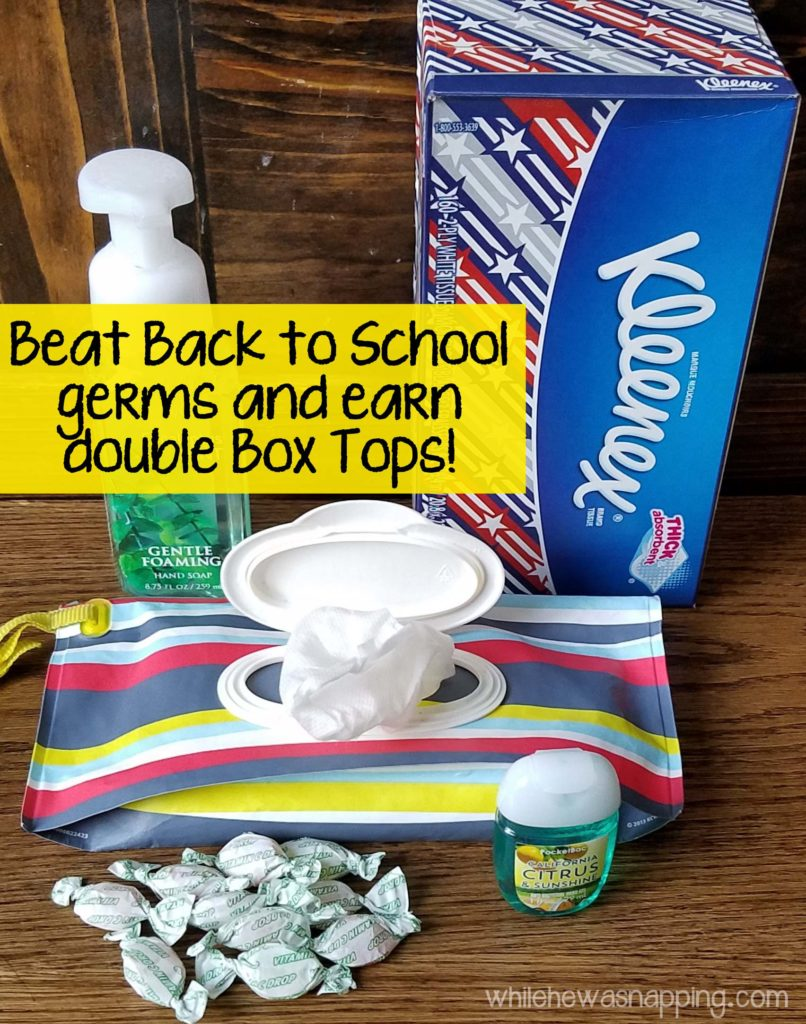 DIY Natural Disinfectant Wipes Double Box Tops