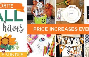 Fall Favorites Printable Bundle Must Haves!