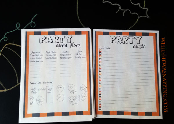 halloween-planner-party-menu-music