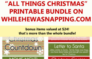 Sneak Peek: All Things Christmas Printable Bundle