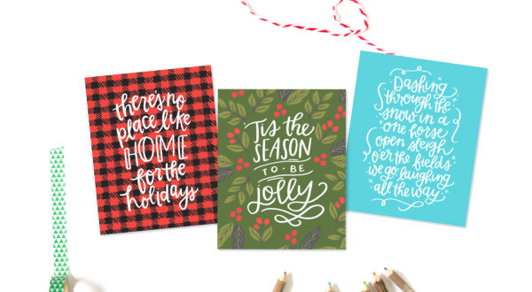 all things christmas printable bundle alexa z design