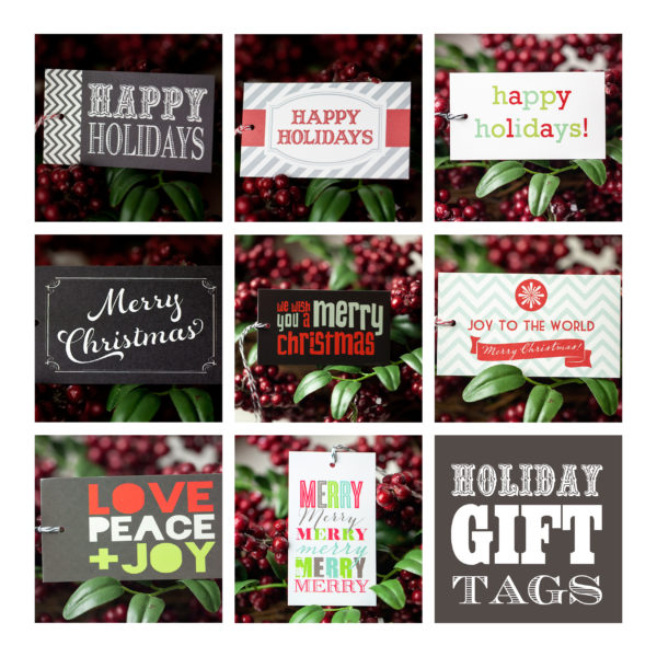 all things christmas printable bundle less ordinary designs