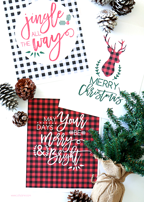 all things christmas printable bundle lolly jane