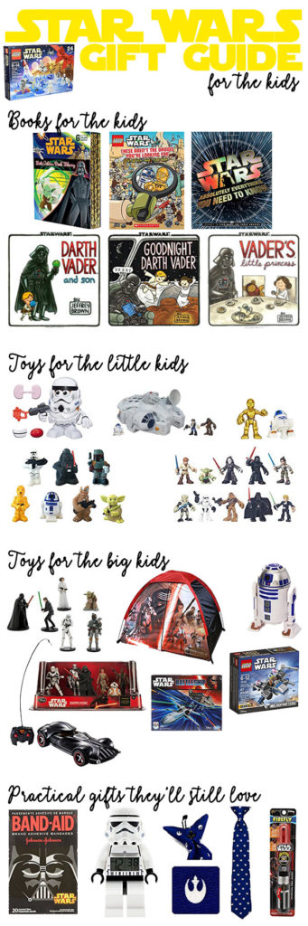 Star Wars gift every little Jedi would love. Books, toys and more!