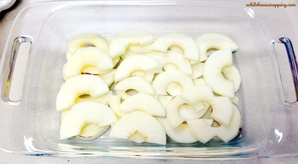 20 Minute Prep Apple Crisp