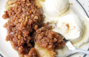 The Most Delicious 20 Minute Prep Apple Crisp