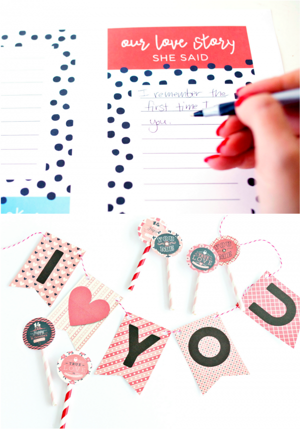 Valentines Bundle Printables