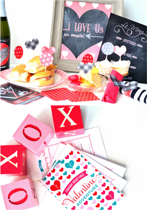 Valentines Day Date Ideas and Printables