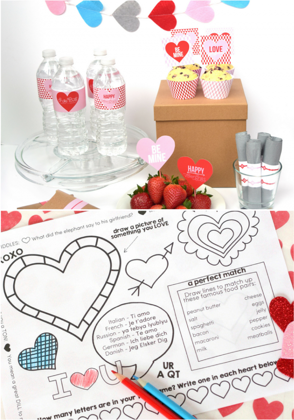 Valentines Day Party Printables