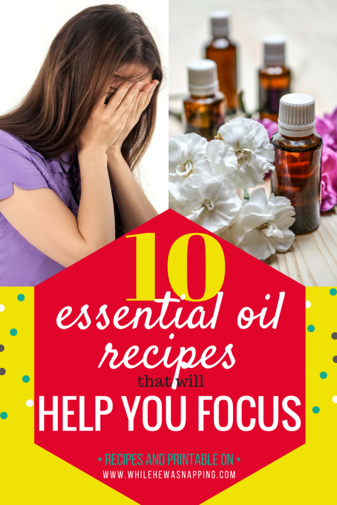 10 Essential Oil Recipes that will Help You Focus