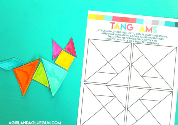 The printables you need for the best summer ever A Girl And A Gluegun