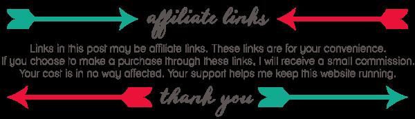 Affiliate Link Disclaimer