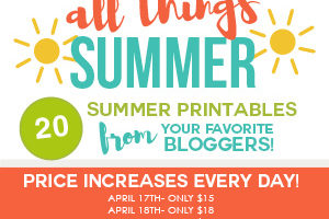 The Summer Printables You Need to Have the Best Summer Ever!
