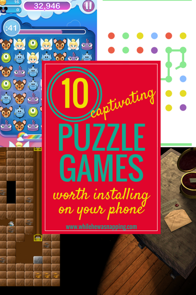10 captivating puzzle games worth downloading on your phone