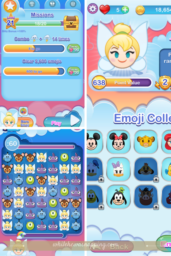Best Puzzle Games for Mobile Devices - Disney Emoji Blitz
