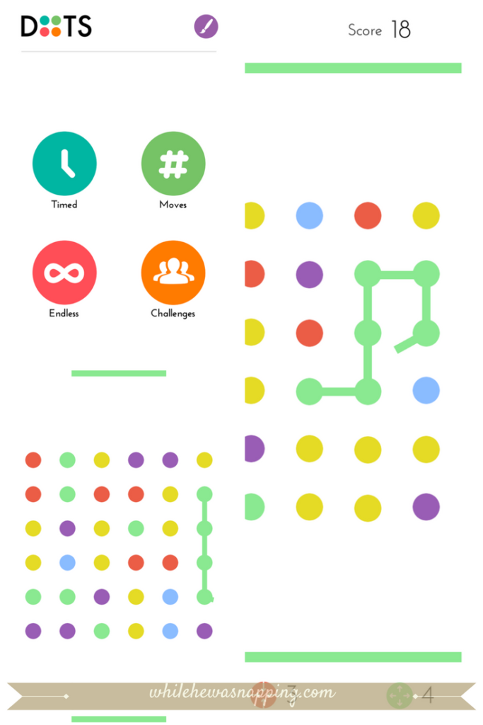 Best Puzzle Games for Mobile Devices - Dots A Game About Connecting