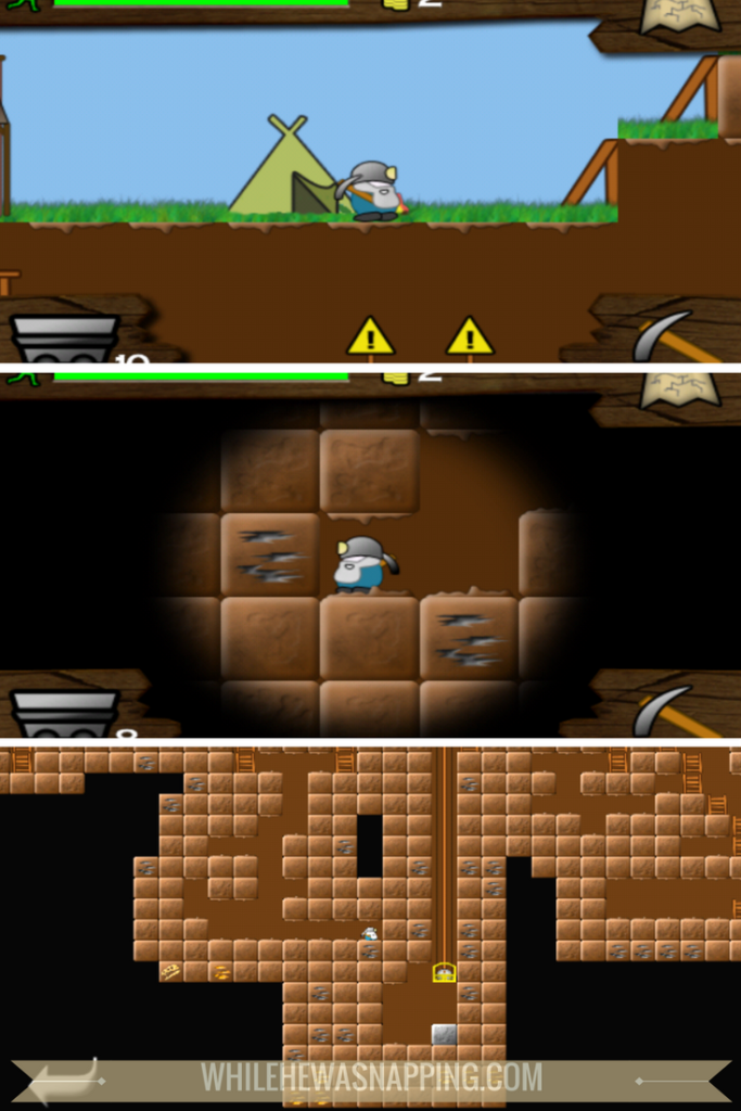 Best Puzzle Games for Mobile Devices - Gem Miner Dig Deeper