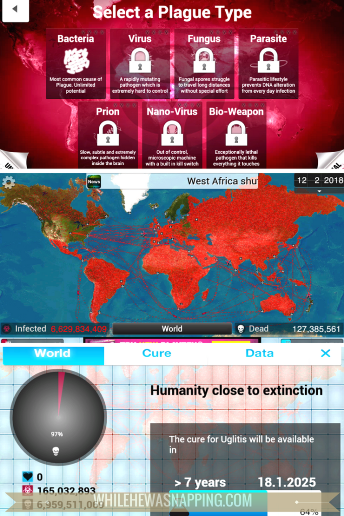 Best Puzzle Games for Mobile Devices - Plague Inc