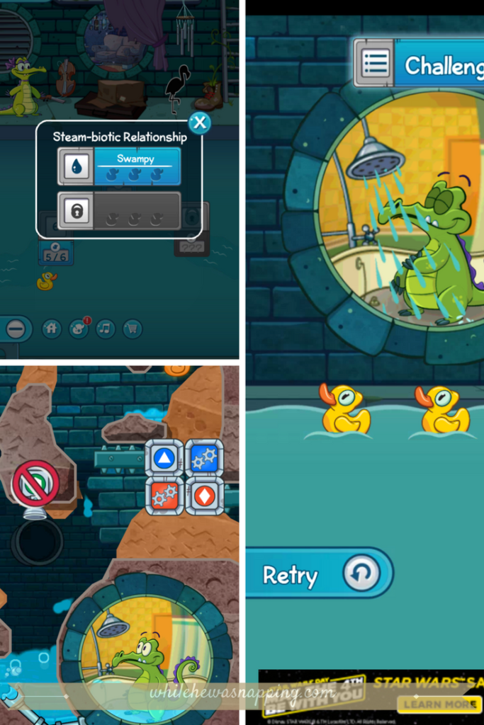 Best Puzzle Games for Mobile Devices - Where's My Water 2