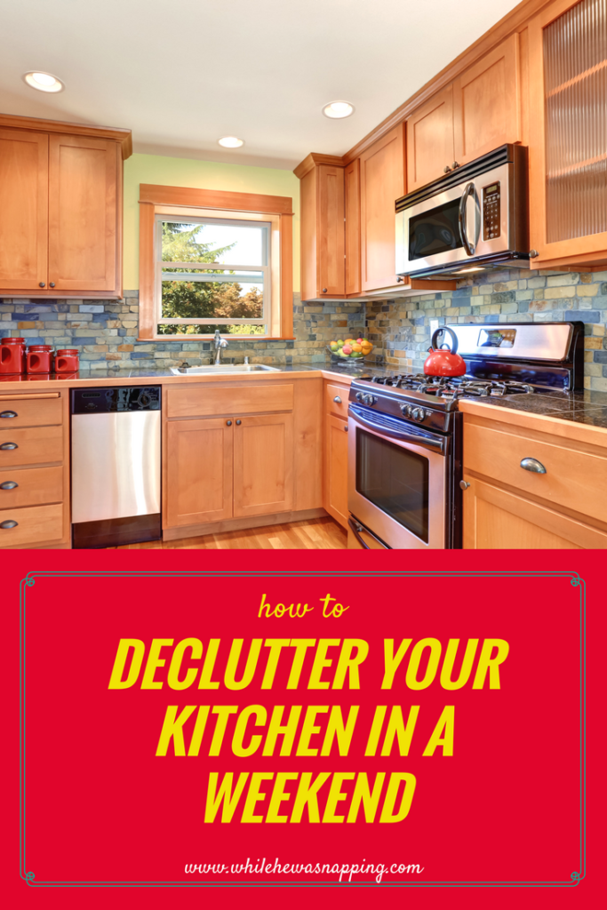 Declutter your Kitchen in a weekend
