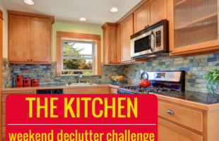 The Kitchen Declutter Challenge You Can Do In A Weekend